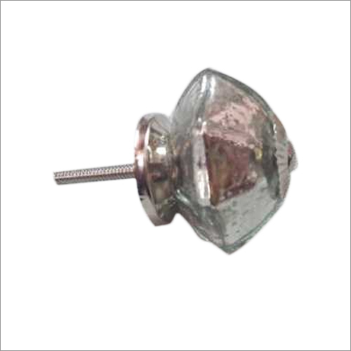 Mercury Glass Knob