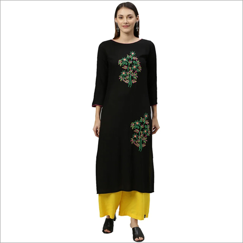 Trendy Rayon Cotton Kurti