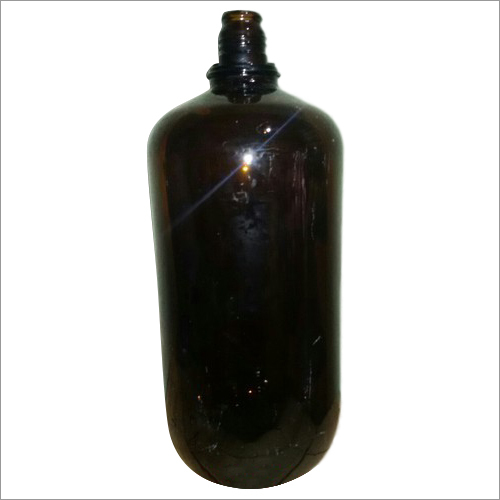 Growler 2.5 Litre Amber Glass Bottle