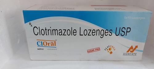 CLORAL - CLOTRIMAZOLE LOZENGES USP