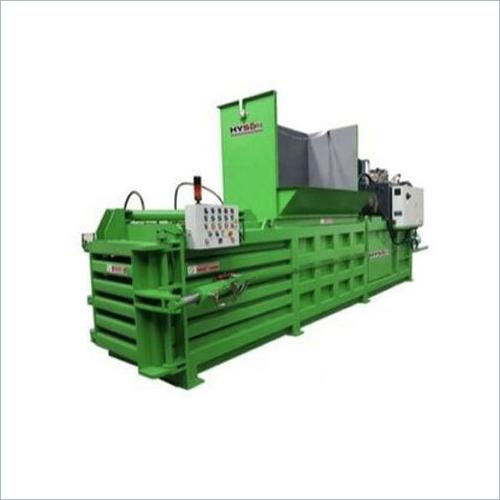 Horizontal Continuous Paper Baling Machine Manual Tying