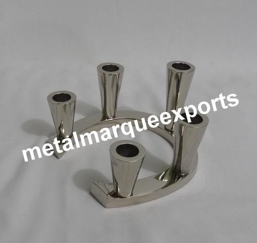 Aluminium 5 Hole Candle Holder