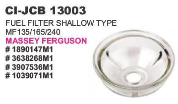 Fuel Filter Shallow Type Messey Ferguson