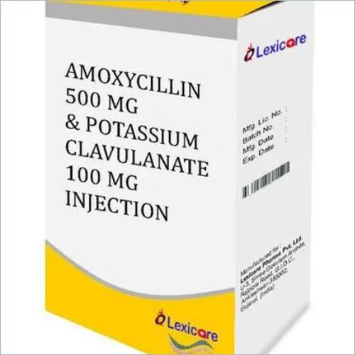 Amoxycillin and Potassium Clavulanic Acid Injection