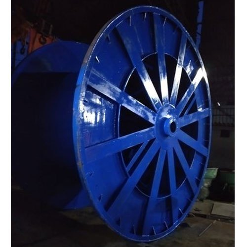 1500 Mm MS Corrugated Steel Cable Drum