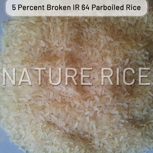 IR 64 Parboiled Rice 5 Percent Broken
