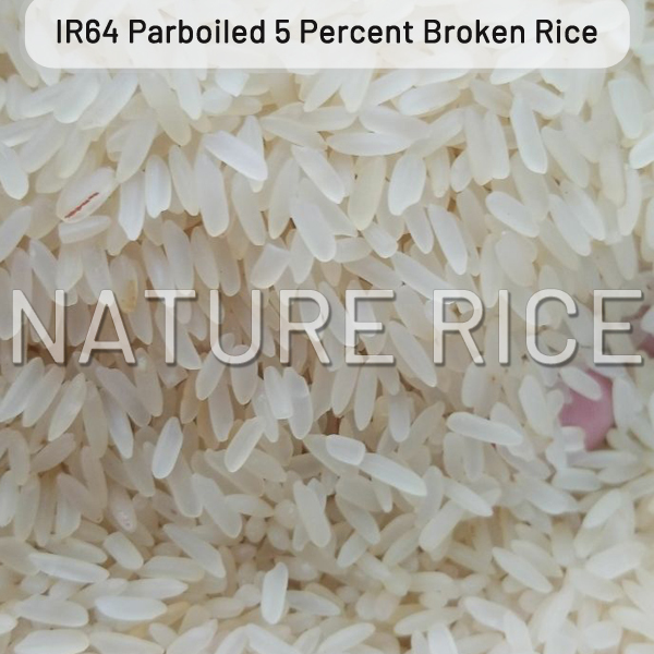 IR 64 Parboiled Rice 5 Percent Broken