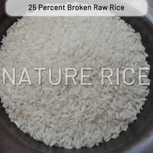 25 Percent Broken Raw Rice