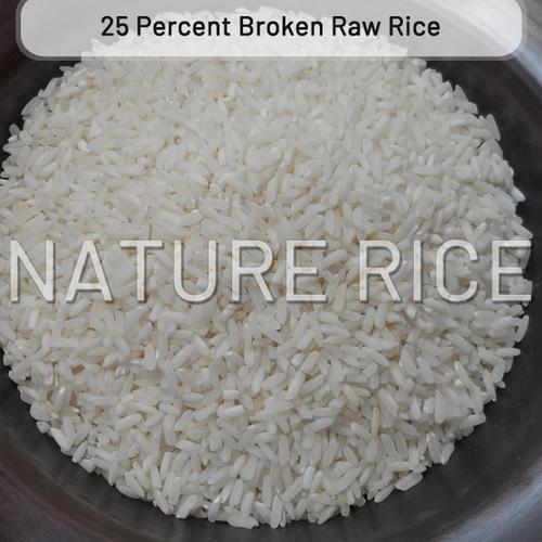 25 Percent Broken Raw Rice