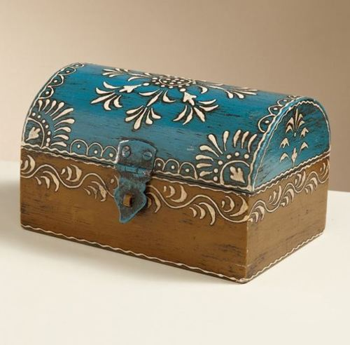 Hand made Rectangle Box small