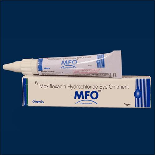 5 GM Moxifloxacin Hydrochloride Eye Ointment