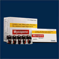 Lycopene Lutein Zinc Selenium And Copper Softgel Capsules