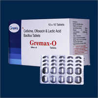 Cefixime Ofloxacin And Lactic Acid Bacillus Tablets