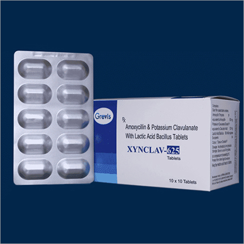 Amoxycillin And Potassium Clavulanate With Lactic Acid Bacillus Tablets