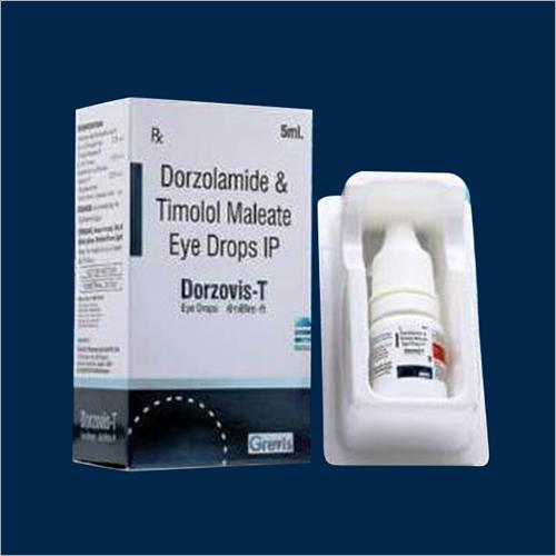 5 ML Dorzolamide And Timolol Maleate Eye Drops IP