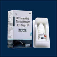 5 ML Dorzolamide And Timolol Maleate Eye Drops IP