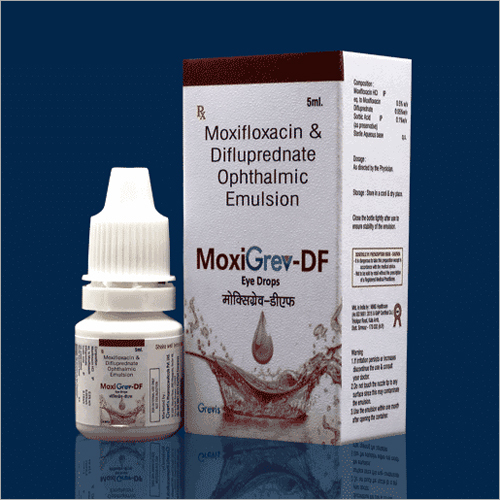 5 ML Moxifloxacin And Difluprednate Ophthalmic Emulsion