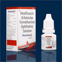 5 ML Moxifloxacin And Ketorolac Tromethamine Ophthalmic Solution