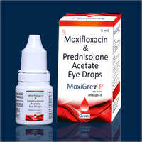 5 ML Moxifloxacin And Prednisolone Acetate Eye Drops