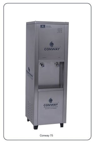 CONWAY 75 STAINLESS STEEL COMMERCIAL WATER DISPENSER - NORMAL & COLD