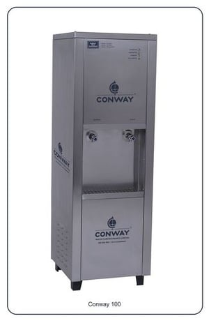 CONWAY 100 STAINLESS STEEL COMMERCIAL WATER DISPENSER - NORMAL & COLD