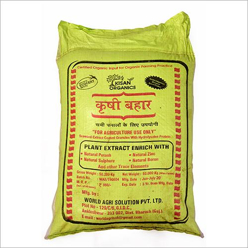 50 kg Plant Extract Enrich With Natural Potash Fertilizer