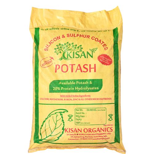Potash Available Potash And 20 Percent Protein Hydrolysated Fertilizer