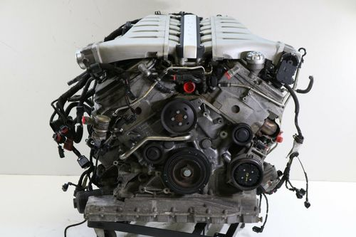 Bentley 6.0l W12 Twin-turbo Complete Engine With Transmission