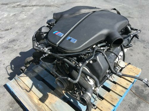 Bmw Mpower S85b50 5.0l V10 Complete Engine