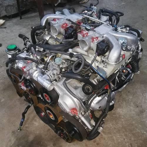 JDM TOYOTA 1GZ-FE V12 (5.0L) VVT-I COMPLETE ENGINE WITH, TRANSMISSION