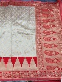 Party Wear Silk Jacquard Sarees