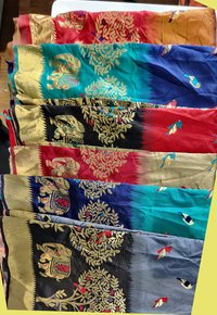 Ladies Party Wear Jacquard Sarees