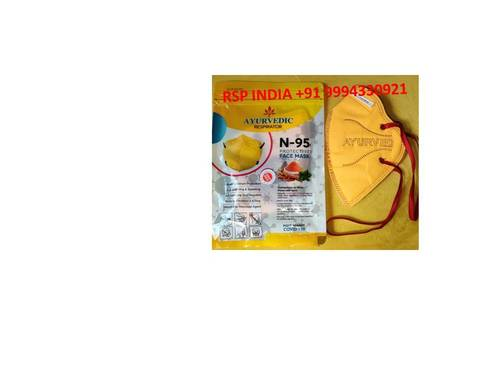Ayurvedic Respirator N-95 Protective Facemask