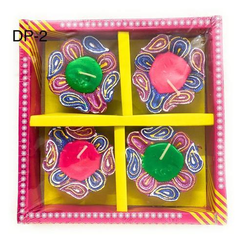 Diwali Diya With Wax