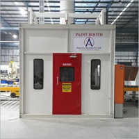 Industrial Water Curtain Spray Paint Booth