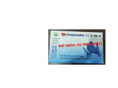 Polymabs Nitrile Powder Free Gloves