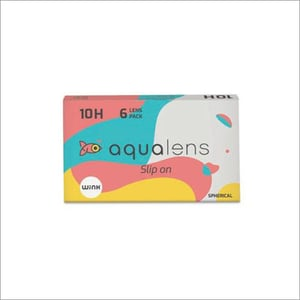 10H Monthly Disposable Contact Lens - 6 Lens Pack (-0.50 to -9.00)