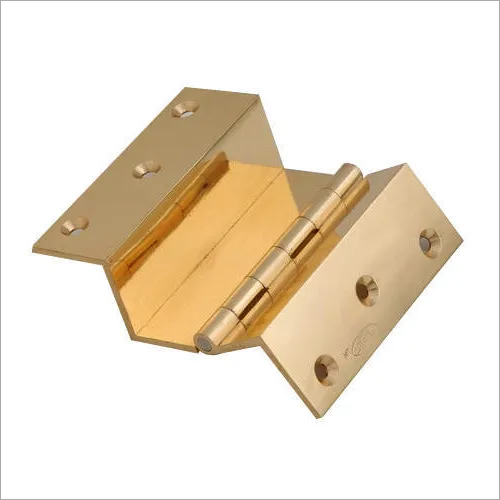 2 in 1 Brass W Hinges