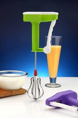 Power Free Manual Hand Blender & Beater for Kitchen