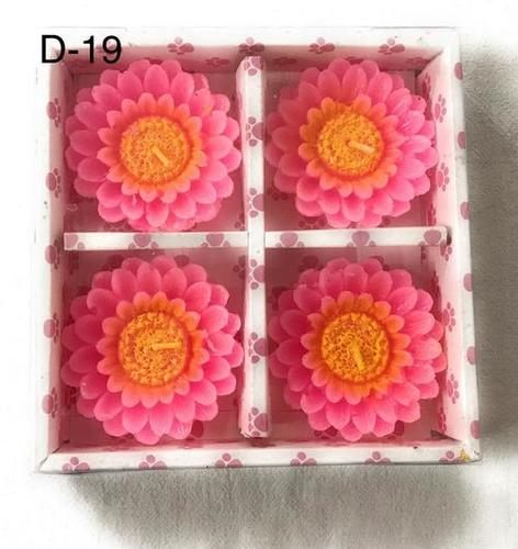 Floating Flower Candles