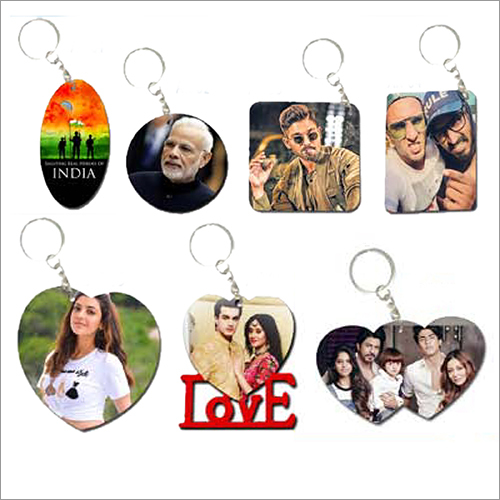 Customized Printed Keychain