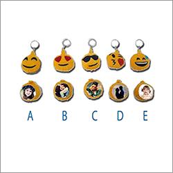 Emoji Printed Keychain