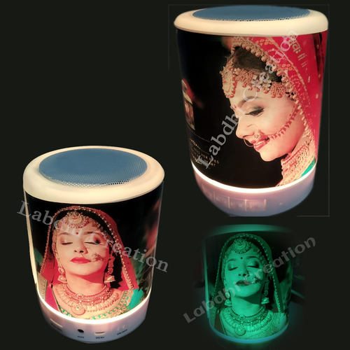 Sublimation Photo Printed Bluetooth Speaker