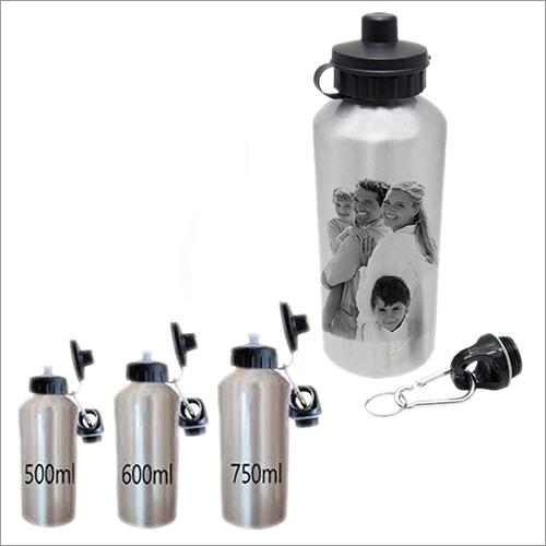 Silver Double Cap Sipper Bottle