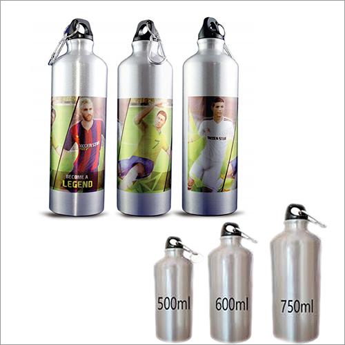 Printed Metal Sipper Water Bottle