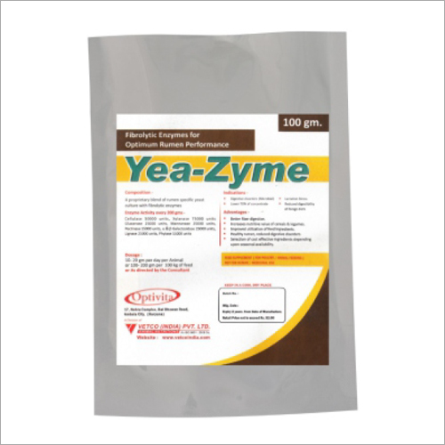 Yeast With Enzyme Complex