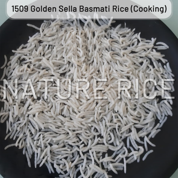 1509 Golden Sella (Parboiled) Basmati Rice