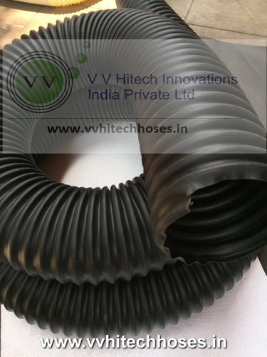 Light Duty Highly Flexible Heat Resistant Tpe Duct Hose