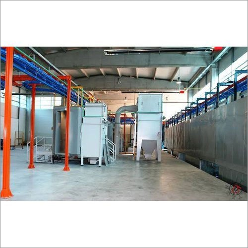 Cross Flow Powder Coating Plant