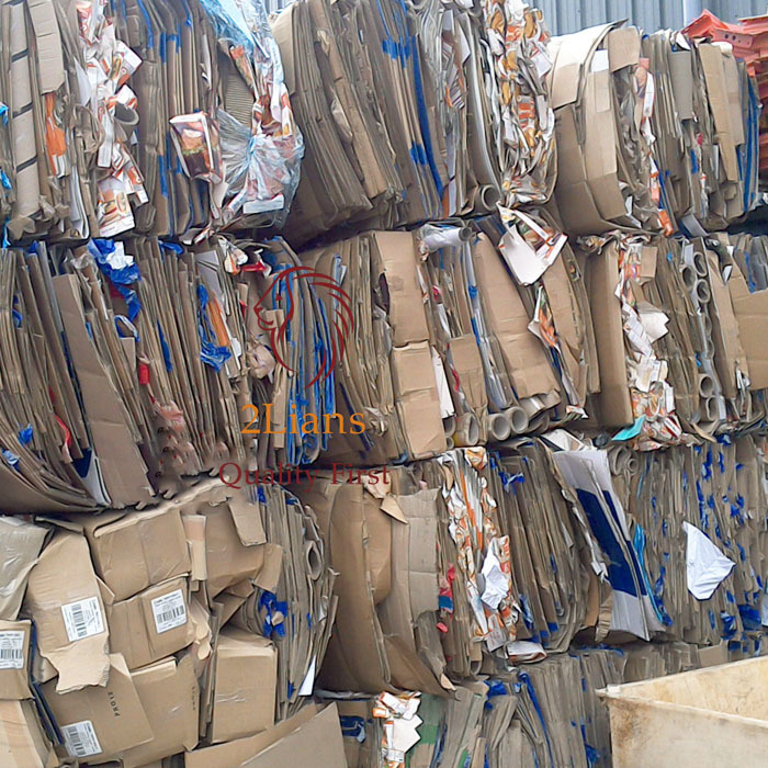 RECYCLED WASTE PAPER
